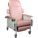 Drive Medical Design Clinical Care Recliner: Rosewood, Geri Chair