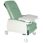 Drive Medical Design 3 Position Geri Chair Recliner: Heavy Duty, Bariatric, Jade