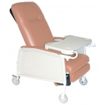 Drive Medical Design 3 Position Geri Chair Recliner: Rosewood