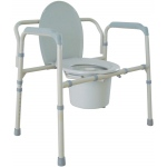 Drive Medical Design Bariatric Folding Commode