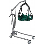 Drive Medical Design Patient Lift with Four Point Cradle: Hydraulic, Deluxe Silver Vein
