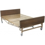 Drive Medical Design Full Electric Bariatric Hospital Bed with Mattress and T Rails: Super Heavy Duty, 54""