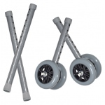 Drive Medical Design Bariatric Walker Wheels: Combo Pack, 5""