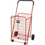 Drive Medical Design Winnie Wagon with Adjustable Handle Height: Red