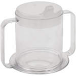Drive Medical Design Clear 2-Handle Cup