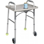 Drive Medical Design Universal Walker Tray with Cup Holder