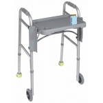 Drive Medical Design Folding Walker Tray with Cup Holders