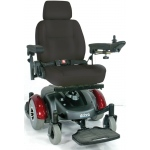 "Drive Medical Design Image EC Standard Power Wheelchair Mid-Wheel Drive: 18"" Captain's Seat"