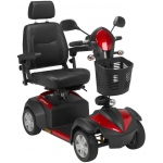"Drive Medical Design Ventura 4 DLX Midsize Scooter: 20"" Captain's Seat"