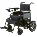 "Drive Medical Design Cirrus Plus EC Folding Power Wheelchair Rear-Wheel Drive:  20"" Sling Seat"