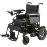 "Drive Medical Design Cirrus Plus HD Folding Power Wheelchair Rear-Wheel Drive: 22"" Sling Seat"
