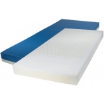 "Drive Medical Design Gravity 7 Long Term Care Pressure Redistribution Mattress: Raised Side Rails, 80"" (L) x 36"" (W)"