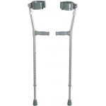 Drive Medical Design Steel Forearm Crutch: Adult