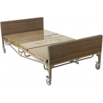 "Drive Medical Design Full-Electric Bariatric Bed Package with Bariatric Foam Mattress and 1 pair ""T"" Rails: 48"""