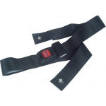 Drive Medical Design Bariatric Wheelchair Seat Belts: Black, Auto-Clasp Type Closure