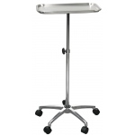 "Drive Medical Design Mayo Instrument Stand with Mobile 5"" Caster Base"
