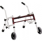 Drive Medical Design Glider Walker: Pediatric, Flame Red, 12""