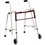 Drive Medical Design Glider Walker: Standard, Flame Red, 29""