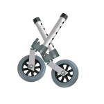 Drive Medical Design Swivel Wheel with Lock & Two Sets of Rear Glides: 5""