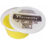 CanDo® Antimicrobial Theraputty® Exercise Material - 3 oz - Yellow - X-soft