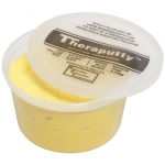 CanDo® Antimicrobial Theraputty® Exercise Material - 1 lb - Yellow - X-soft