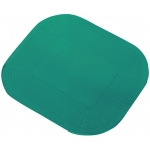"Dycem Non-Slip Rectangular Pad: 7-1/4""X10"", Forest Green"