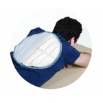 Fabrication Enterprises Relief Pak Moist Heat Pack & Cover Set: Circular Pack W/ Foam Fill Pocketed Cover, Dozen