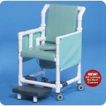 Innovative Products Unlimited Deluxe Shower Chair Commode with Options