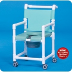 Innovative Products Unlimited Deluxe Shower Chair/Commode with Open Front Seat