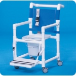 Innovative Products Unlimited Select Shower Commode with Seat Belt & Footrest