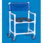 Innovative Products Unlimited Midsize Open Front Soft Seat Shower Chair