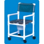 "Innovative Products Unlimited Standard Soft Seat Shower Commode: 17"" Clearance"