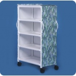 "Innovative Products Unlimited 4 Shelf Linen Cart: 36"" x 20"" Shelves"