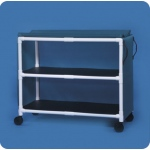 Innovative Products Unlimited Standard Line Jumbo Linen Cart: Two Shelves