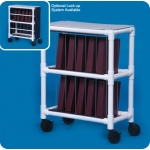 Innovative Products Unlimited Notebook Chart Rack: Holds 10 Ring Binders