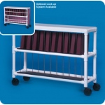 Innovative Products Unlimited Notebook Chart Rack: Holds 20 Ring Binders