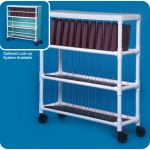 Innovative Products Unlimited Notebook Chart Rack: Holds 30 Ring Binders