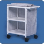 "Innovative Products Unlimited 2 Shelf Cart with Cover: 26"" x 20"" Shelves"