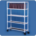 Innovative Products Unlimited Notebook Chart Rack: Holds 40 Ring Binders