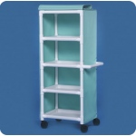 "Innovative Products Unlimited 4 Shelf Cart with Cover: 26"" x 20"" Shelves"