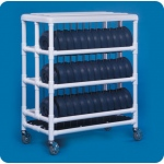 Innovative Products Unlimited Dome Cart: Holds 72 Dome Lids