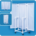 "Innovative Products Unlimited Wheeled Privacy Screen: 70"" High"