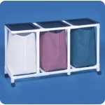 Innovative Products Unlimited Triple Linen Hamper