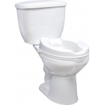 Drive Medical Design Raised Toilet Seat without Lid: 2""