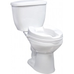 Drive Medical Design Raised Toilet Seat without Lid: 4""