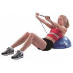 "CanDo® Core-training Vestibular Dome (21"") with Resistance Cords"