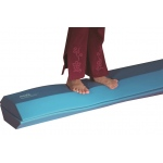 "Airex® balance beam - 64"" x 9"" trapezoid, case of 10"