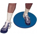 CanDo® home balance board - for Left leg - Blue - 250 lb capacity