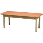 "Generic Wooden Treatment Table: Standard, Upholstered, 72"" L x 30"" W x 30"" H"
