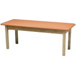"Generic Wooden Treatment Table: Standard, Upholstered, 78"" L x 30"" W x 30"" H"